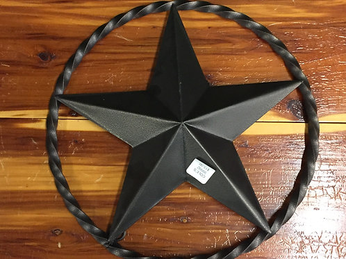 STAR WITH RING 12IN ACROSS