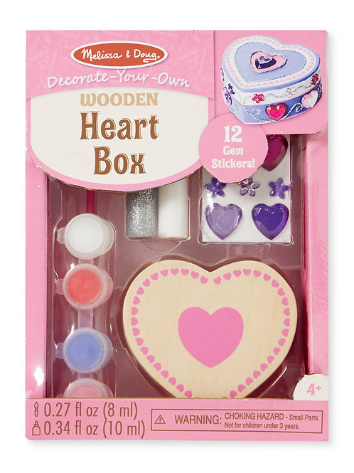 MELISSA & DOUG HEART CHEST 8850