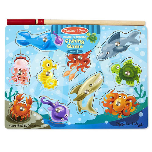 MELISSA & DOUG FISHING MAGNETIC PUZZLE GAME 3778