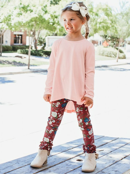 GIRL'S BUDDING BEAUTY RUFFLE LEGGINGS SPKCB