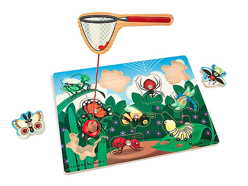 MELISSA & DOUG BUG CATCHING MAGNETIC PUZZLE G 3779