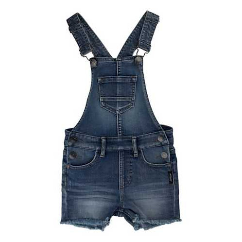 GIRL'S DENIM OVERALLS BY SILVER JEANS NIS7052B