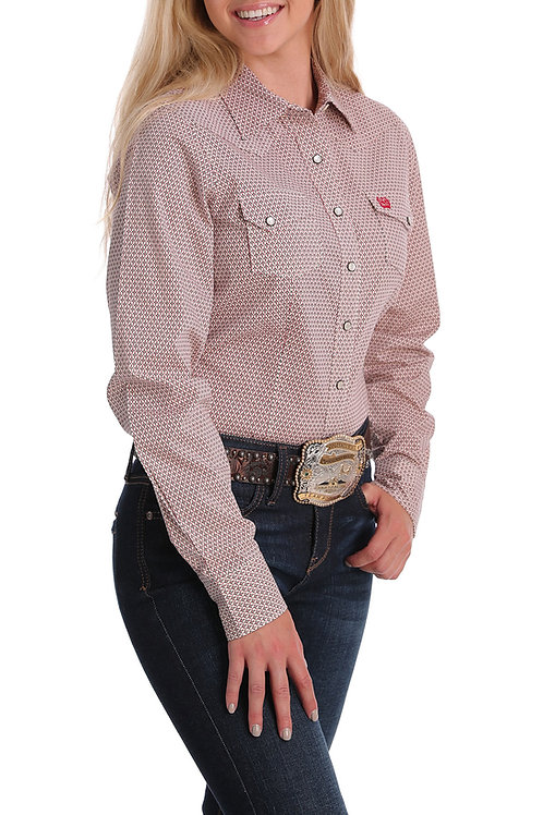 WOMEN'S CINCH L/S BUTTON UP MSW9201011
