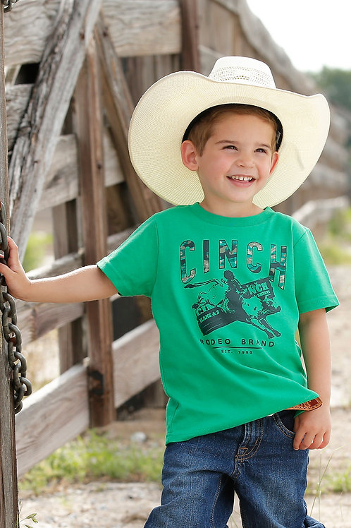 LITTLE BOY'S GREEN CINCH TEE MTT7672040