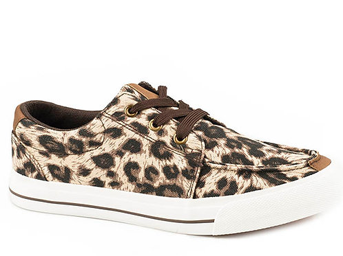 ROPER LEOPARD CANVAS SHOE 2573