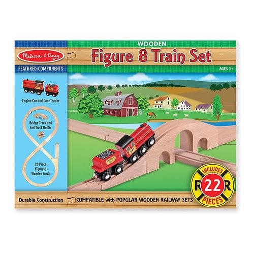 MELISSA & DOUG FIGURE 8 TRAIN SET 703