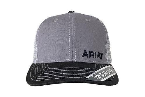 MEN'S GREY ARIAT LOGO CAP 1501106