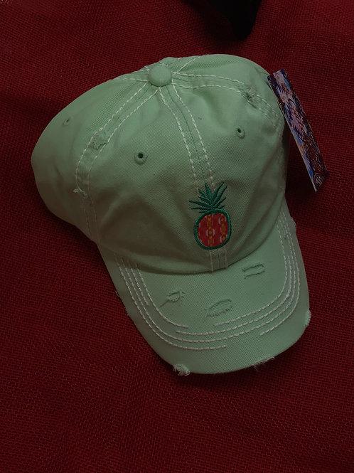 CATCHFLY BASEBALL CAP PINEAPPLE MINT
