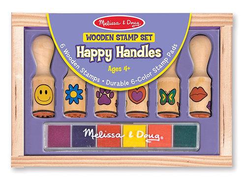 MELISSA & DOUG HAPPY HANDLES STAMP SET 2407