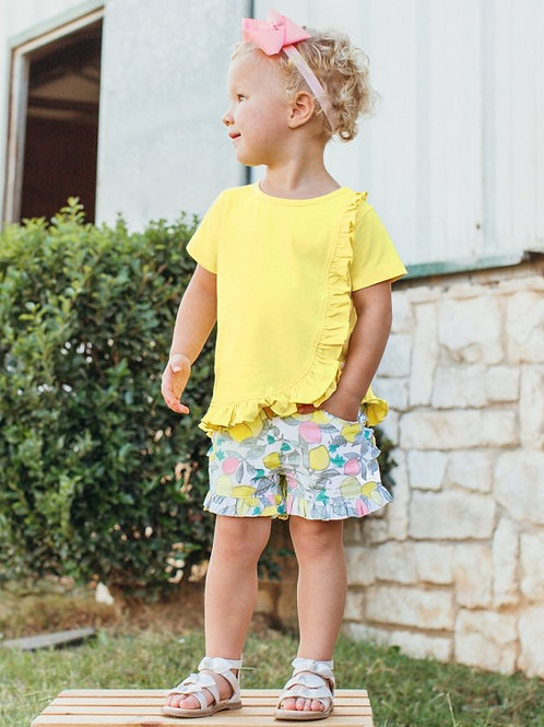 RUFFLEBUTTS MAKE LEMONADE SHORTS GTWWH