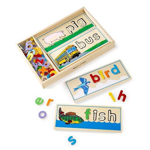 M&D SEE AND SPELL PUZZLE 2940