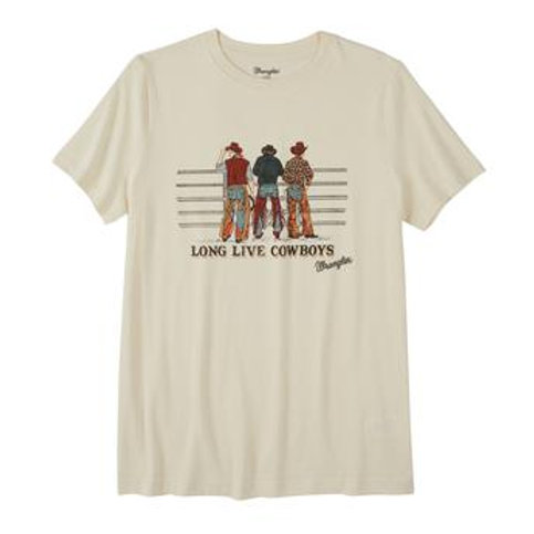 "WOMEN'S WRANGLER ""LONG LIVE COWBOYS"" TEE LWK323W"