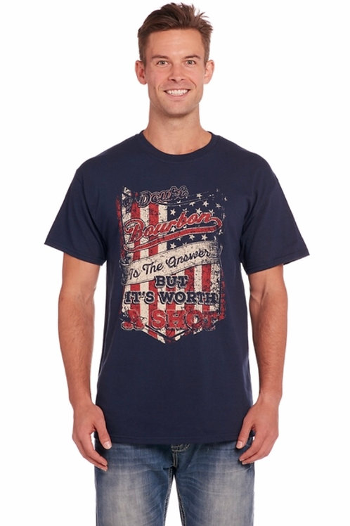 MEN'S WORTH A SHOT TEE CU2339