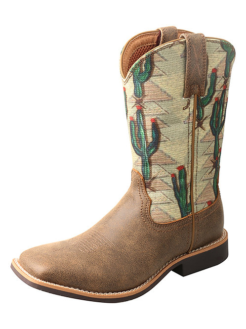 GIRL'S TWISTED X CACTUS BOOTS YTH0012