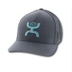 """MEN'S """"COACH"""" HOOEY FLEX FIT CAP 1775GY-02"""