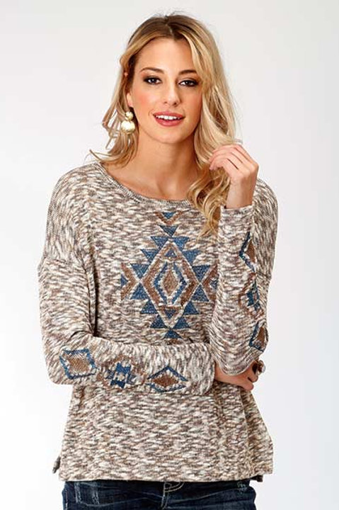 WOMEN'S ROPER SLOUCHY PULLOVER SWEATER 7089