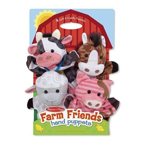 M&D FARM FRIENDS HAND PUPPETS