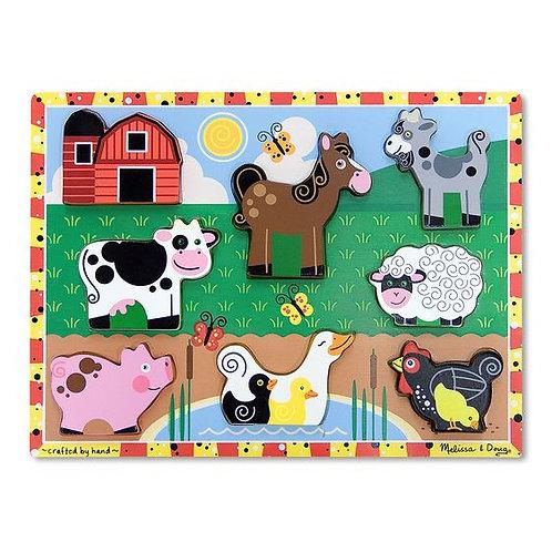 M&D FARM CHUNKY PUZZLE 3723