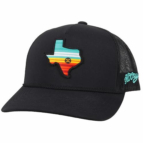 HOOEY TEXAS PATCH CAP 2046T-BK