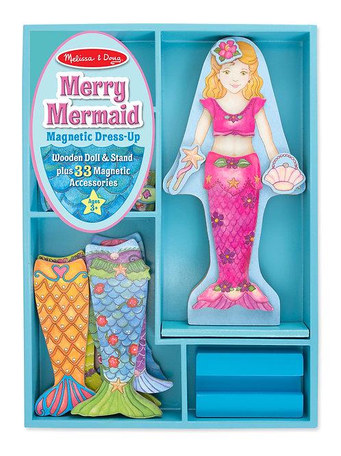 Merry Mermaid Magnetic Dress-Up Set 8601