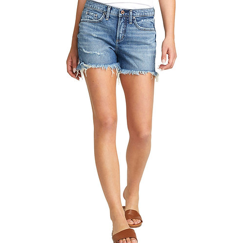 """WOMEN'S SILVER """"NOT YOUR BF'S"""" SHORTS L28513RCS246"""