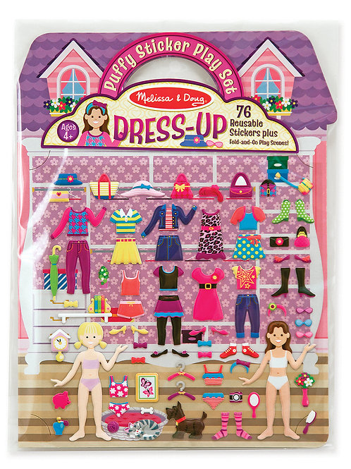 MELISSA & DOUG PUFFY STICKER DRESS UP 2195
