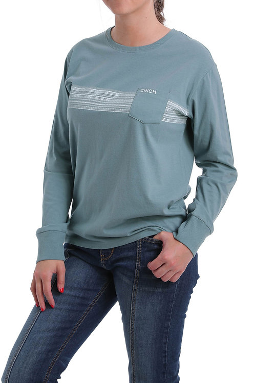 WOMEN'S CINCH LONG SLEEVE T-SHIRT MST7866001