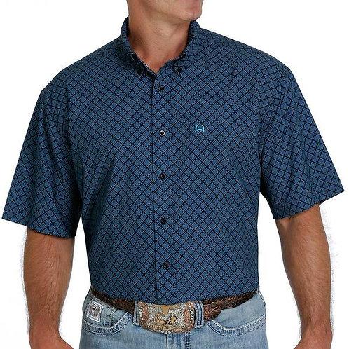 MEN'S CINCH NAVY BLUE ARENAFLEX POLO MTW1704080