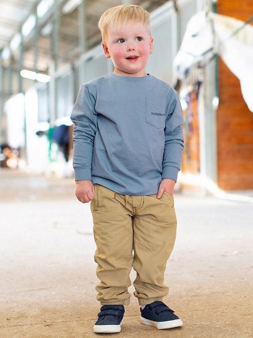 BOY'S KHAKI JOGGER PANTS BPWTA