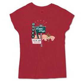 BOY'S RED HOOEY GRAPHIC TEE HT1520RD