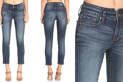 WOMEN'S MISS ME ANKLE LENGTH SKINNY JEANS M1033AK