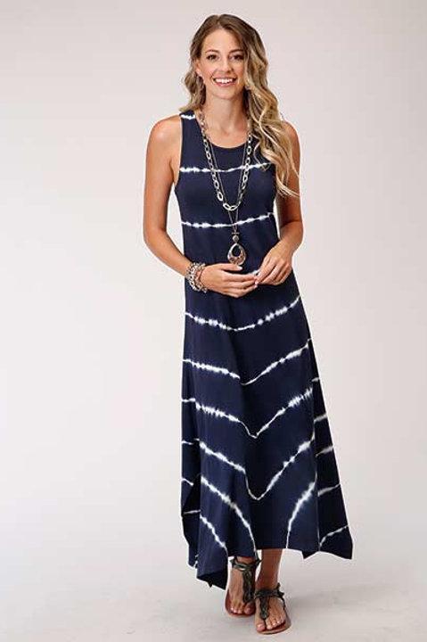 WOMEN'S ROPER TIE DYE MAXI DRESS 3023