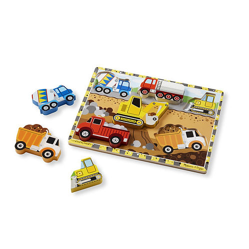 M&D CHUNKY CONSTRUCTION PUZZLE 3726