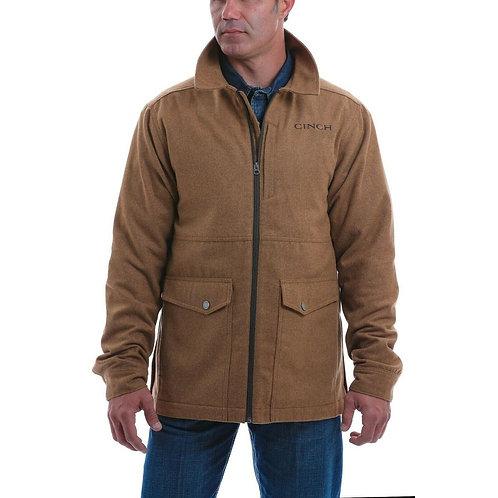 MEN'S BROWN WOOLY DRESS JACKET MWJ1529001