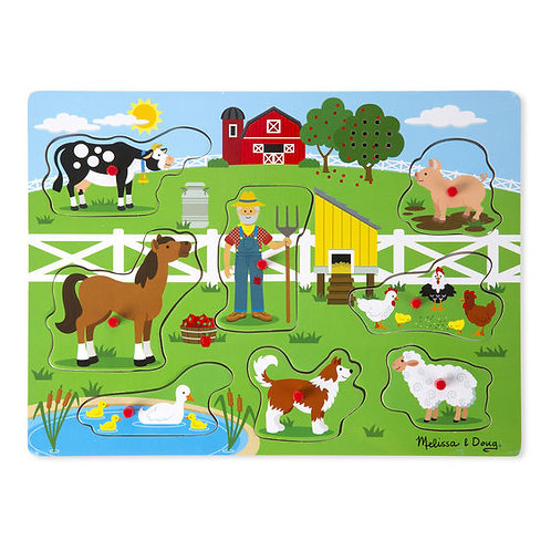 M&D OLD MACDONALD'S FARM SOUND PUZZLE 0738