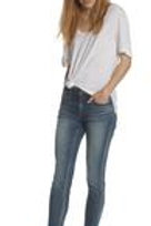 "WOMEN'S MEDIUM WASH ""JAGGER"" SKINNY JEANS VC-P11471A"