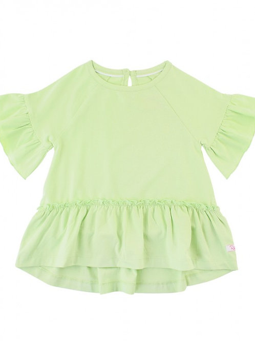 RUFFLEBUTTS HONEYDEW MIA TOP SSKHD