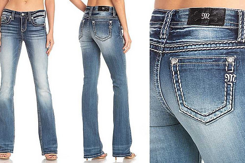 MISS ME BOOT CUT JEANS M5012B52