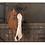 Thumbnail: GANZ PAINTED BARN HORSE BURLAP WALL HANGING