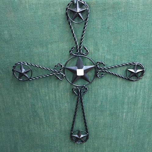 METAL CROSS 19INX23IN