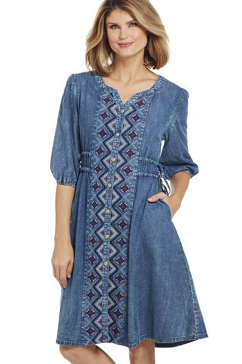 WOMEN'S DENIM CRIPPLE CREEK DRESS CG00102
