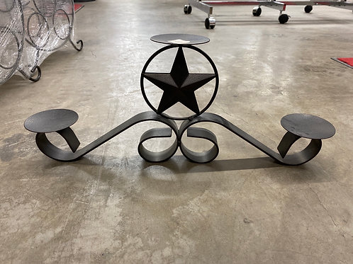 METAL STAR CANDLE HOLDER