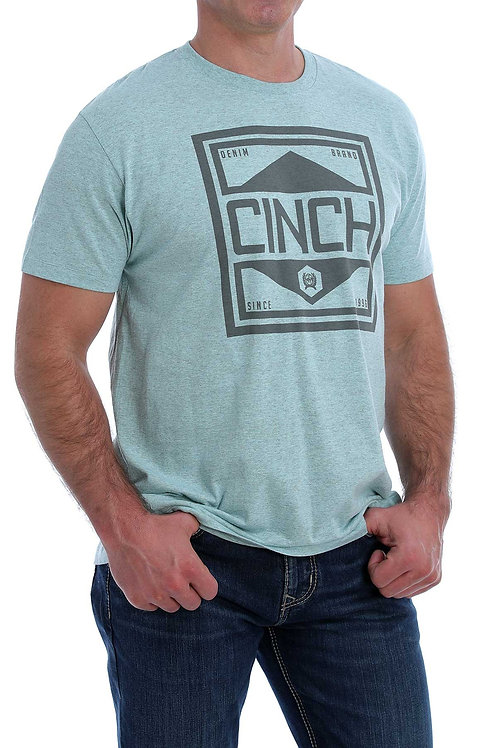 MEN'S CINCH TEAL T-SHIRT MTT1690431