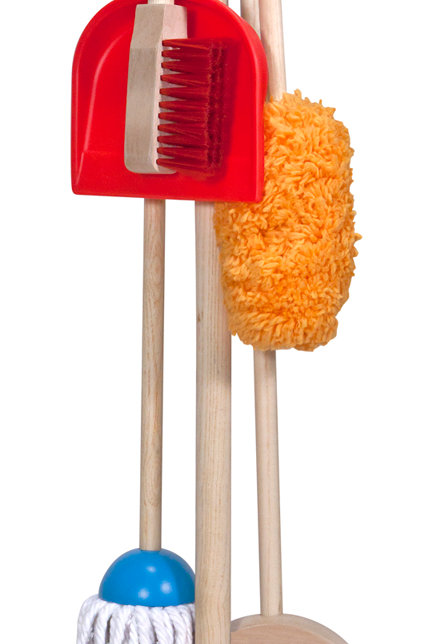 MELISSA & DOUG Let's Play House! Dust! Sweep! Mop! 8600