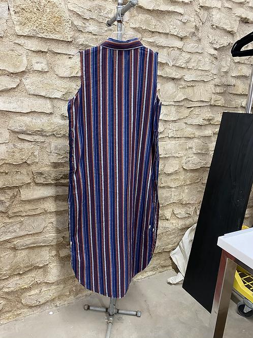Women's Striped Duster