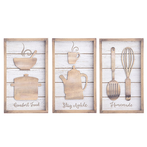 KITCHEN STYLE WOODEN SIGNS 30068710