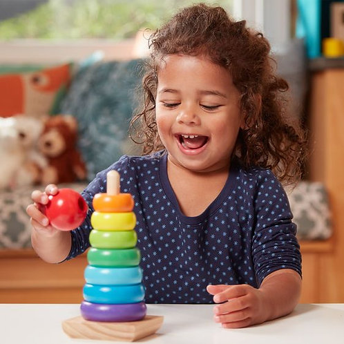 M&D CLASSIC RAINBOW STACKER TOY 0576