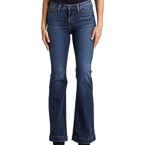 WOMEN'S HIGH NOTE FLARE JEANS W64802SDG315