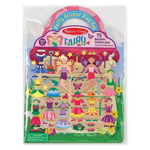 MELISSA & DOUG FAIRY PUFFY STICKERS PLAY SET 9414
