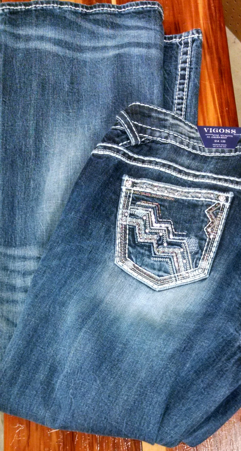 vigoss plus size jeans p6777x | coles general store | hico, tx